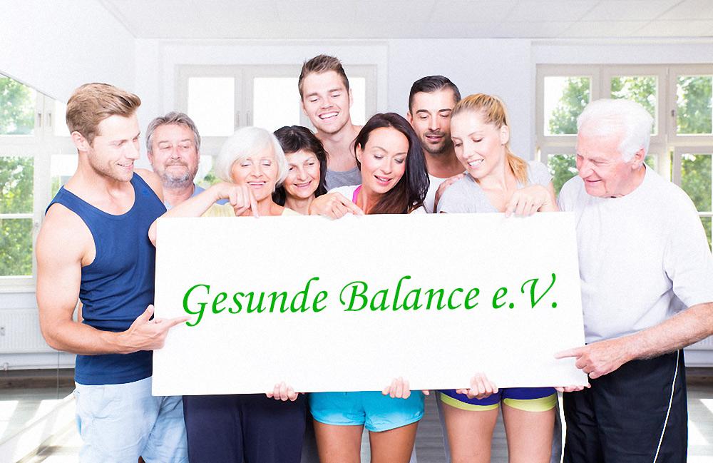Gesunde Balance